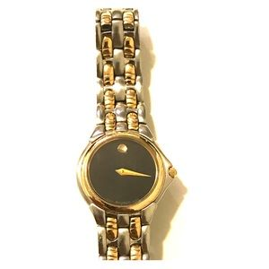 Movado Ladies Two-Toned Bracelet Watch