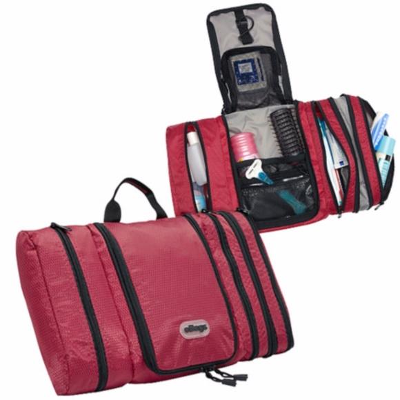 969fd4a66a ebags Handbags - NWOT eBags Pack-it-Flat Toiletry Kit