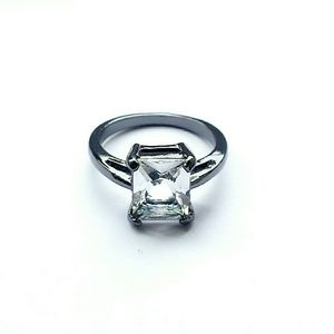 Jewelry - Black Rhodium Plated Cubic Zirconia Ring