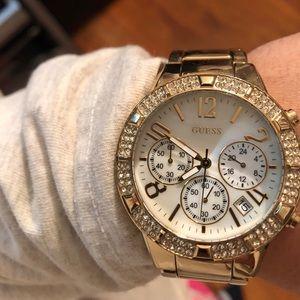 Guess Gold Watch. Worn a few times.