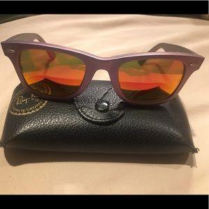 Ray Ban Wayfarer Cosmo Collection Sunglasses