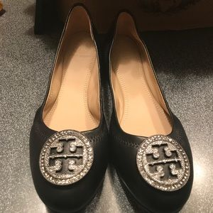 9537598f081 Tory Burch Shoes - New Authentic Tory Burch Liana Embellished Ballet