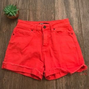 BDG Tomato red high waisted URBAN OUTFITTER short