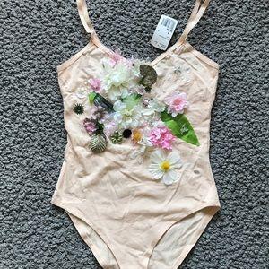Flowers leotard