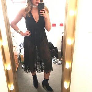 Nasty Gal lace dress