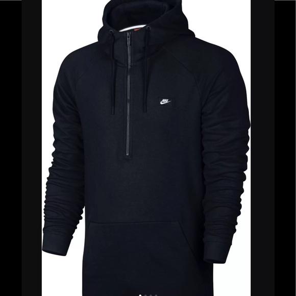Nike Modern Half Zip French Terry Hoodie Size 2XL