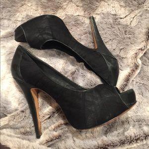 Vince Camuto peep toe high heels
