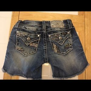 Miss Me shorts size 10