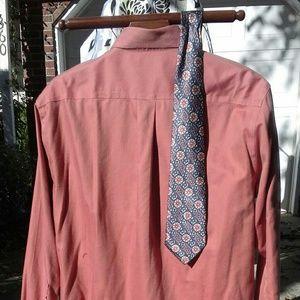 Joseph A banks no iron Shirt sz16.5\34 $18+gift