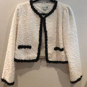 Jackie O Inspired Knit Jacket
