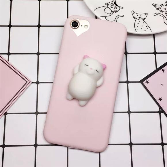 a877a5e915 Accessories | Cute Squishy White Bear Iphone 6 7 8 Case | Poshmark