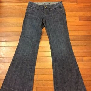 Level 99 Anthropologie Denim Blue Jean Pants