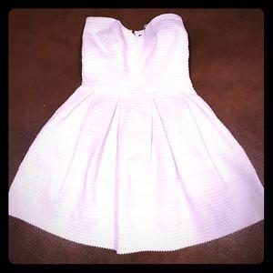 White Bandage Dress with Cupcake Skirt