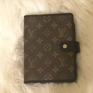 Louis Vuitton macassar monogram MM agenda planner
