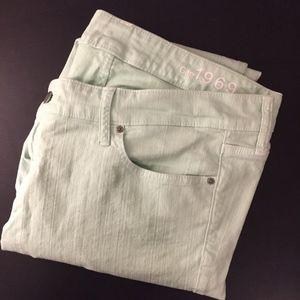 Mint Green Always Skinny Jeans!