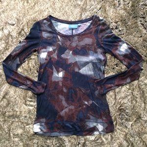 Simply Vera Wang Long Sleeve Shirt