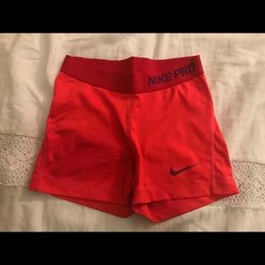 Red Nike pros