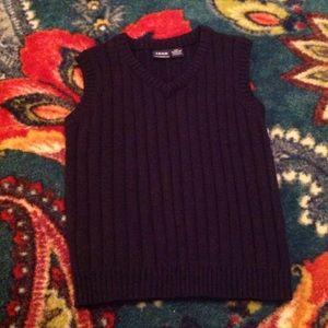 Boy's Navy Blue Izod Sweater Vest