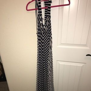 Beautiful Halter Maxi Dress size Large