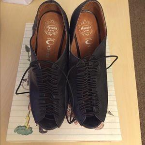 Jeffrey Campbell Rockin Black Heels