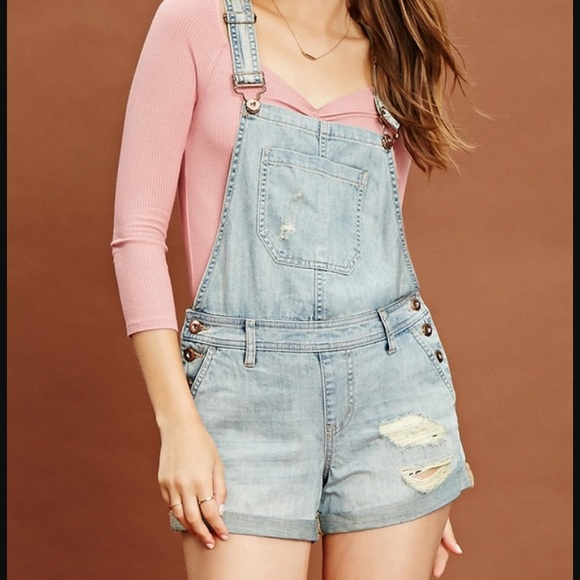 Forever 21 Other Jean Jumpsuit Brand New Items Poshmark
