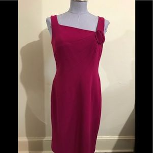 Cranberry Red Dressy Dress