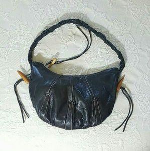 Black Kenneth Cole Toggle purse