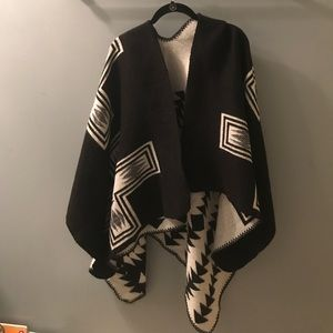 Old Navy Reversible Poncho