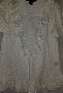 Marc Jacobs size 2. Cotton ruffle top