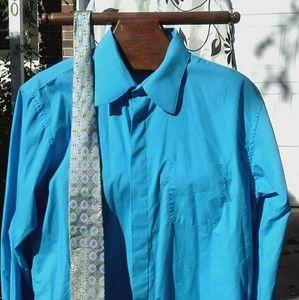 Damamte men's shirt sz large $18 +free gift
