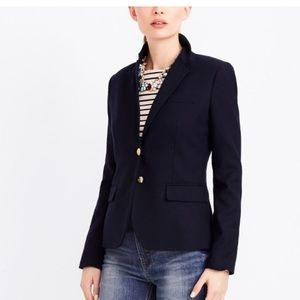 J.crew factory schoolboy blazer in black