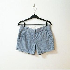 Jcrew striped shorts