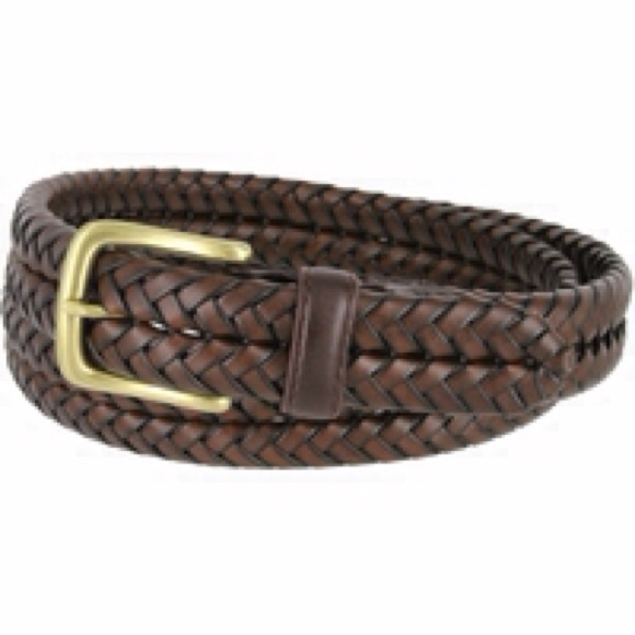 Brighton Accessories Mens Braided Leather Belt Free W Purchase