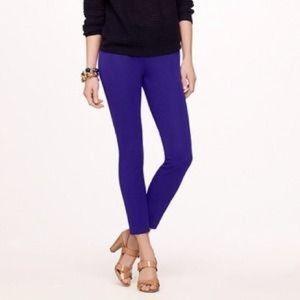 J.Crew Purple Minnie pants