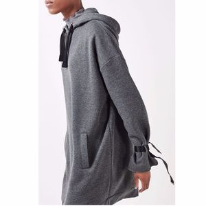 Topshop Boutique Oversized Hoodie Dress