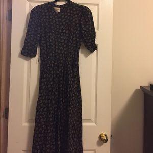 Vintage patterned dress