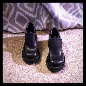 Steve Madden Chunky Black Heels