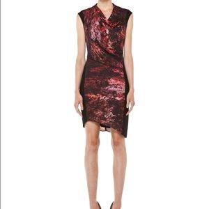 Helmut Lang Midnight Floral Dress, rarely worn