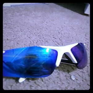 Other - Blue and white sun glases