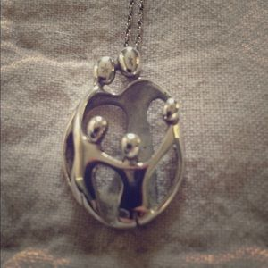 Jewelry - Beautiful Sterling Silver family necklace