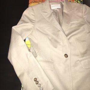 Banana Republic blazer, khaki, size 2