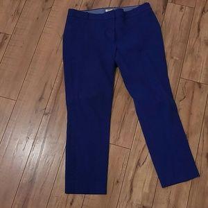 J.Crew Royal Blue Dress Pants