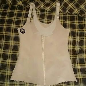 Soft Nude-Colored Corset/Waist Trainer 3X