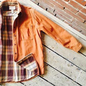 Vintage L.L. Bean Burnt Orange Jacket