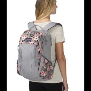 NWT Jansport Beacon Backpack Laptop Coral Sparkle