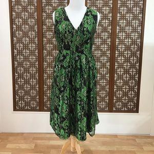 ModCloth Green Lace Special Occassion Dress SZ:XXL