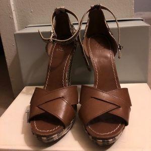 Tory Burch open toe high heel Shoes