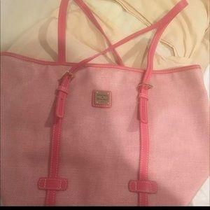 Pink Dooney & Bourke purse