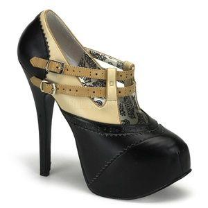 High Heel Stiletto Platform Shoes Buckle Straps