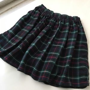 Clueless Plaid Flannel Skirt by American Apparel